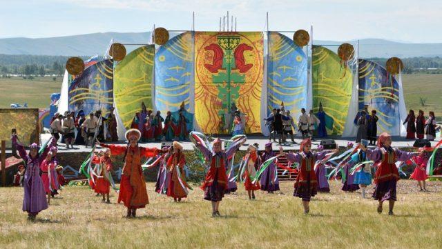 Главный праздник хакасского народа «Тун пайрам»