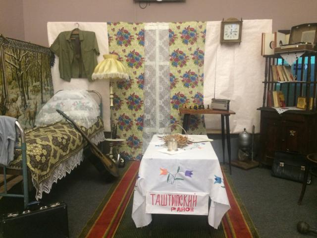 Тематическая экспозиция МО Таштыпского района