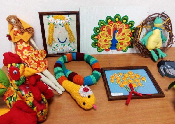 Выставка работ декоративно-прикладного искусства