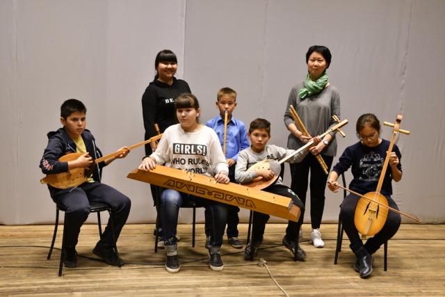 Участники мастер-классов с Мариной Дориной