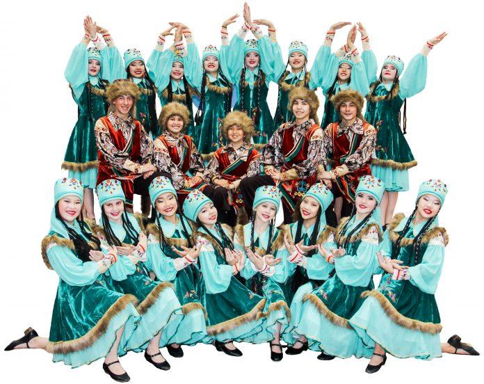концерт образцовой танцевальной студии «Ынархас»