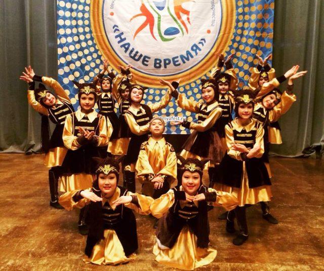 Гран-при Международного конкурса-фестиваля детского и юношеского творчества «Наше время»