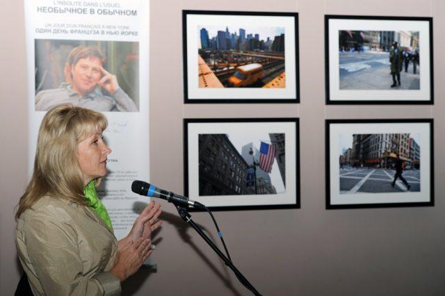 Открытие фотовыставки Nikolasa Le Bera (Франция)