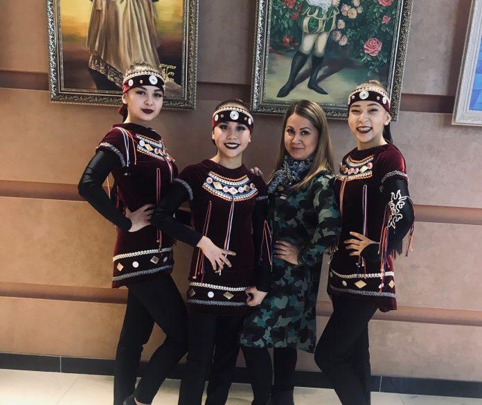С балетмейстером Анной Тинниковой