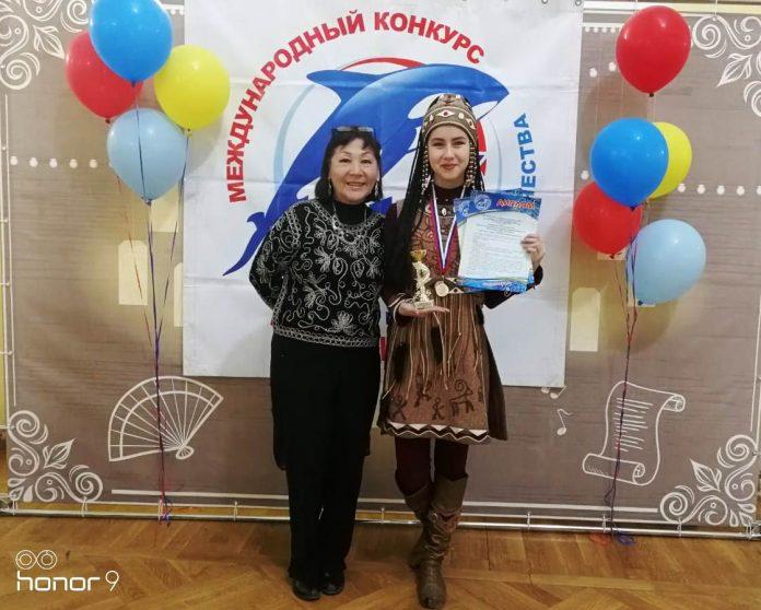 С педагогом по вокалу Светланой Аткниной